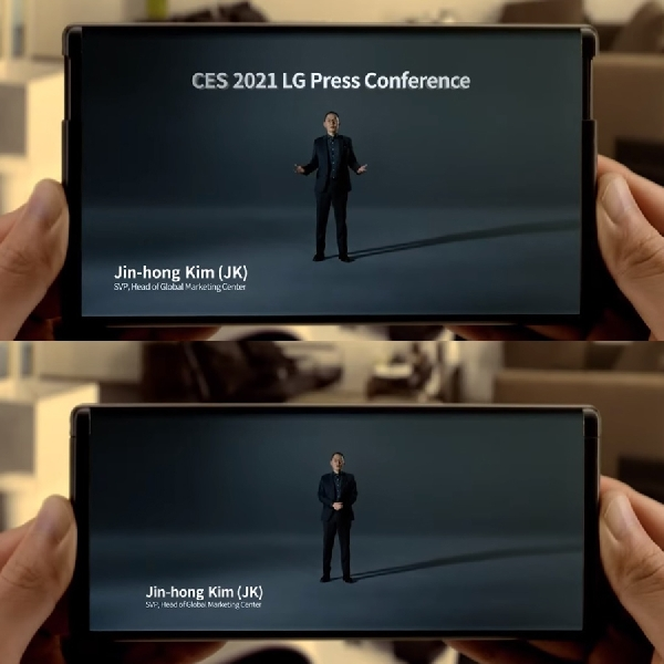 Enggan Bikin Ponsel Lipat, LG Bersiap Produksi Ponsel Gulung?