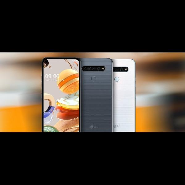 LG Mengumumkan K61, K51S dan K41S Mempunyai Layar 6,5 Inci Serta Baterai 4.000 mAh