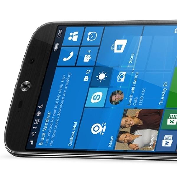 Acer Rilis Smartphone Berbasis Windows 10, Liquid Jade Primo
