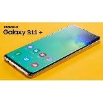 Menarik! Samsung Galaxy S11+ Menyajikan Lubang Kamera Selfie di Atasnya