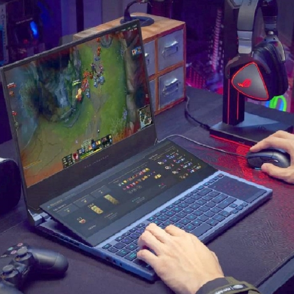 Mengintip ROG Zephyrus Duo 15, Laptop Gaming Layar Ganda