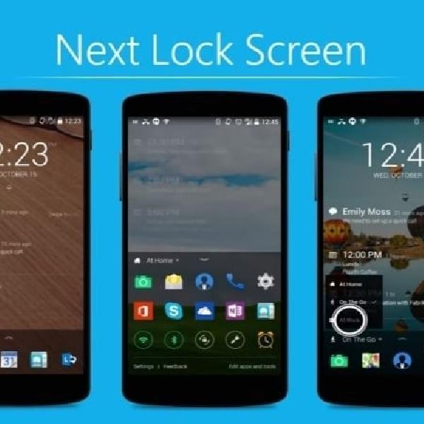 Update Next Lock Screen Hadirkan Fitur Security Tingkat Tinggi