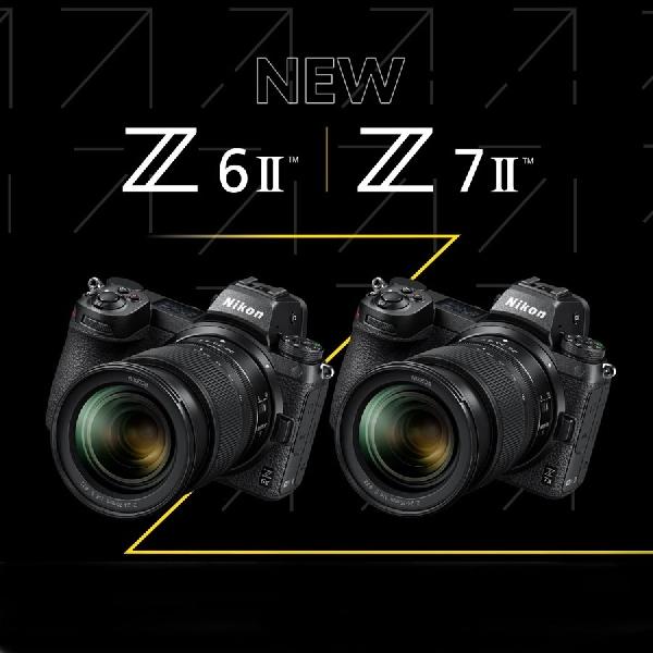 Nikon Mirrorless Z6 II dan Z7 II Dibekali Slot Memori Kedua