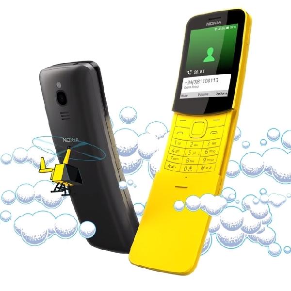Ponsel Pisang Nokia 8110 Dihidupkan Kembali di MWC 2018