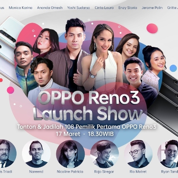 Catat! Ini Jadwal Peluncuran Oppo Reno3