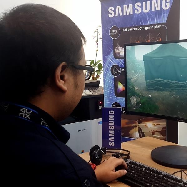 Samsung CFG70, Monitor Gaming Layar Lengkung Sesuaikan Kurva Mata