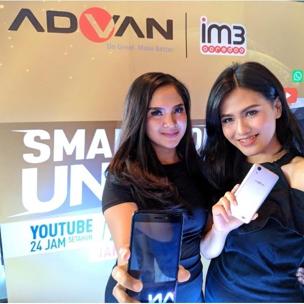 Advan S50 Diluncurkan, Tawarkan Internet Gratis Setahun Penuh