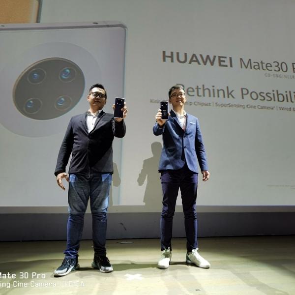 Huawei Mate 30 Pro Resmi Meluncur