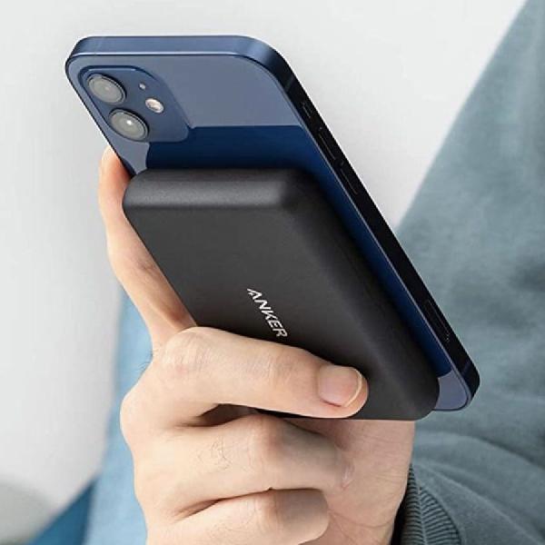 Power Bank MagSafe Apple Untuk iPhone Mendukung Pengisian Nirkabel Terbalik
