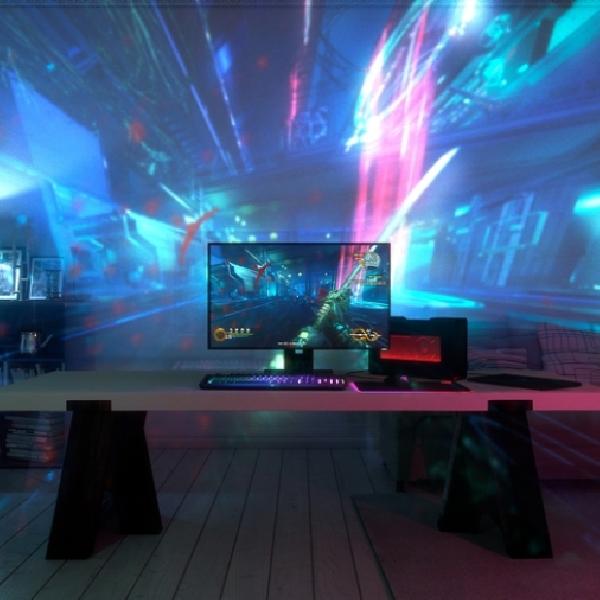 Proyektor ini mampu Ubah Ruangan Jadi Environment Game