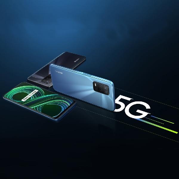 realme 8 5G Meluncur, HP 5G Paling Terjangkau Pertama di Indonesia