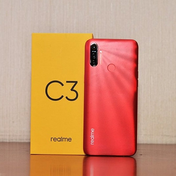 Realme C3 Menggunakan Desain Tiga Kamera di Bagian Belakang, Berikut Spesifikasinya!