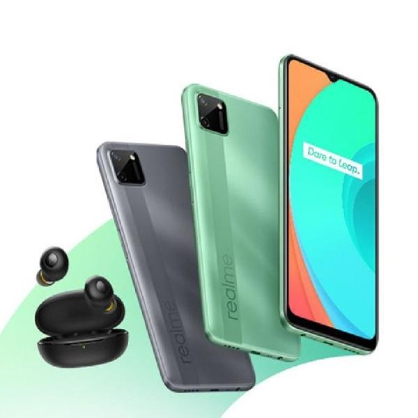 Realme Rilis Smartphone entry C11 dan TWS Tangguh Buds Q, ini Spesifikasinya
