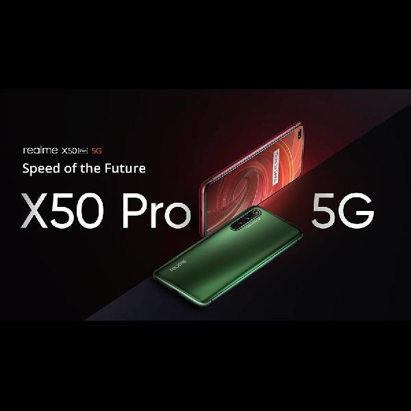 Realme X50 Pro 5G Memulai Debutnya dengan SD865, Pengisian Daya 65W, dan 6 Kamera