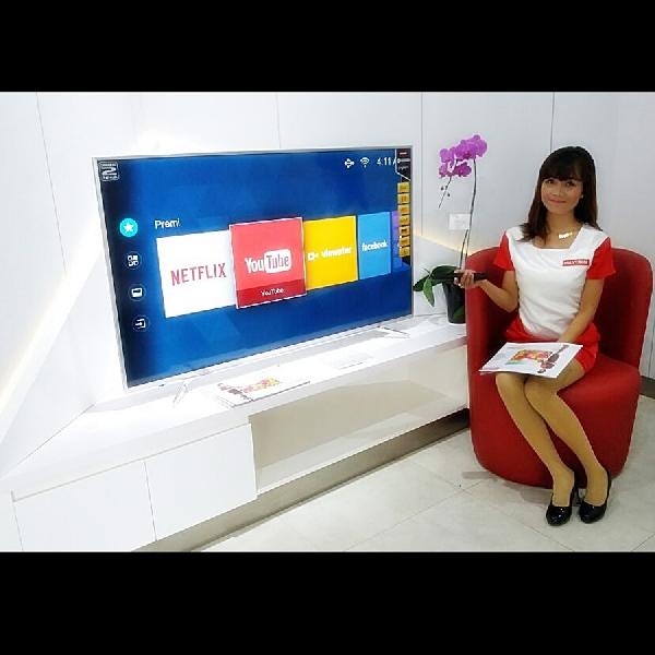 Polytron Rilis 4K Smart Ultra HD, TV LED Kualitas Bioskop