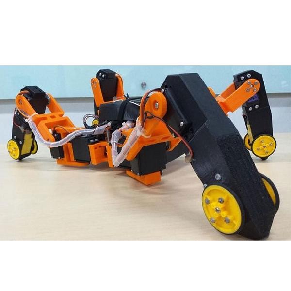 Ini Robot Hibrida Pendeteksi Gempa Bikinan Anak Bangsa