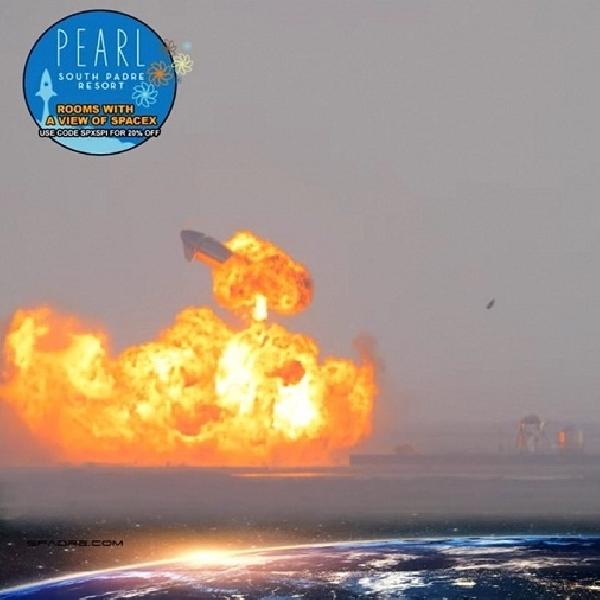 Roket SpaceX Starship SN10 Meledak Usai Sukses Mendarat, Ini Kata Elon Musk