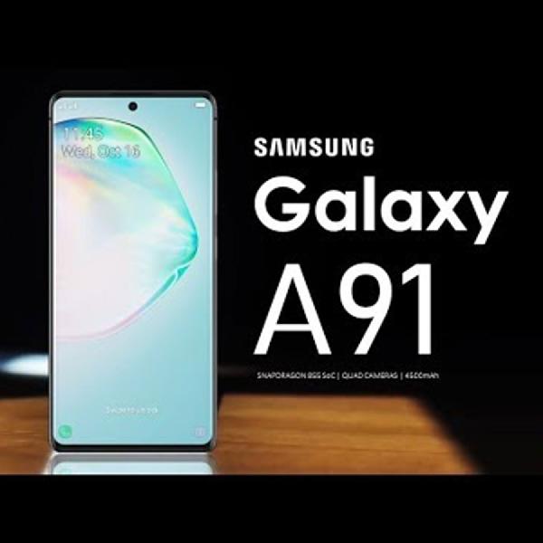 Samsung Galaxy A91 Membuat Bocoran yang Menunjukkan Kamera Selfie Seperti Note 10