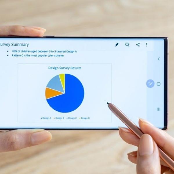 Layar Adaptif Galaxy Note20 Ultra Mampu Menghemat Daya Baterai Lebih Baik
