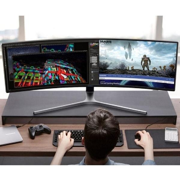 Hadirkan Monitor Gaming Samsung Curved 49 inci Beresolusi QHD di CES 2019