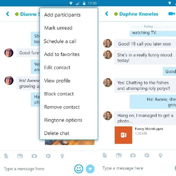 Skype Untuk Android Hadirkan Fitur Terbaru