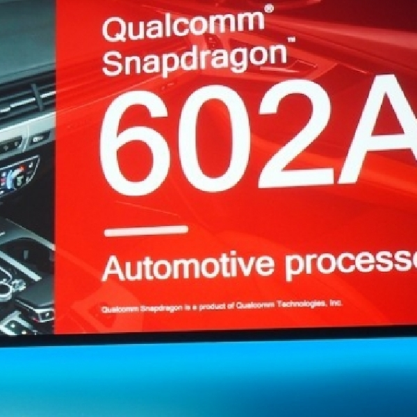 Snapdragon 602A jadi Otak Jajaran Mobil Audi 2017