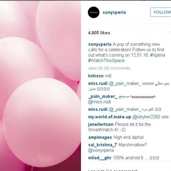 Sony Xperia Dengan Warna Pink Segera Hadir