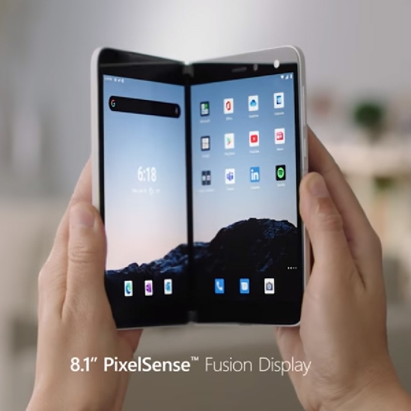 Microsoft Bocorkan Harga dan Ketersediaan Ponsel Lipat Surface Duo