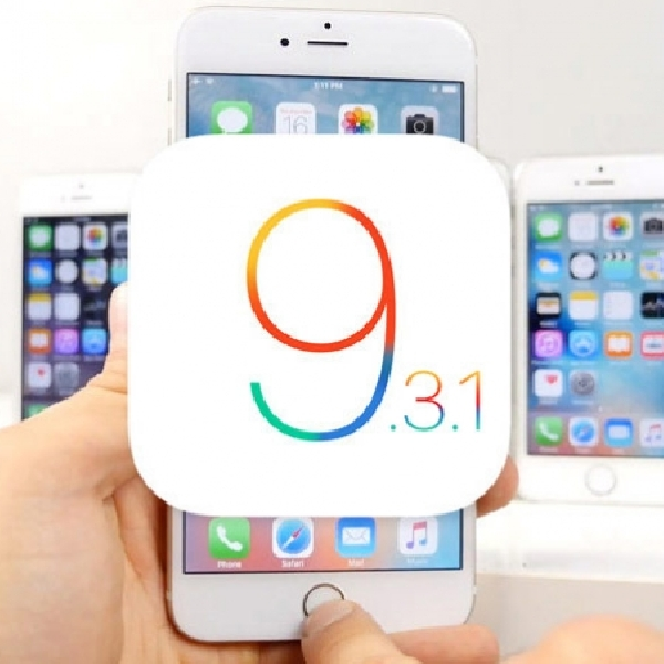 Tambal Bug, Apple Rilis iOS 9.3.1