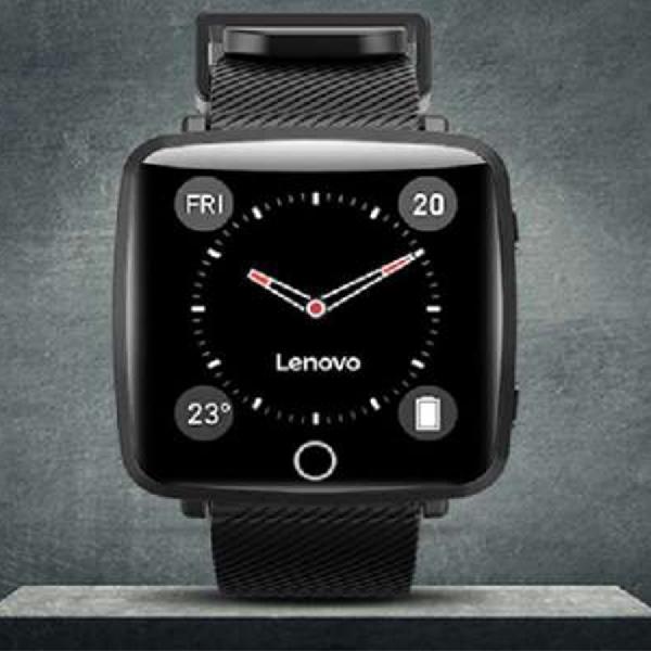 Lenovo Rilis Smartwatch Carme dengan Tampilan Warna dan Bersertifikat IP68