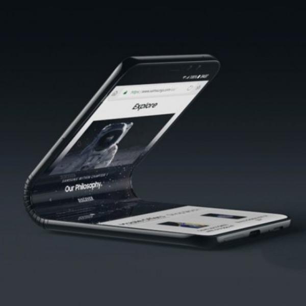 Lebih Dekat dengan Ponsel Lipat Samsung