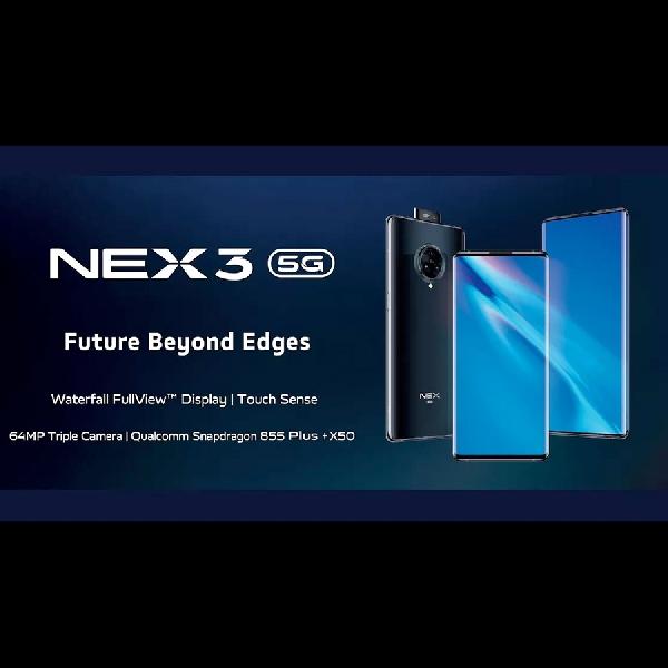 Terungkap! Vivo NEX 3s 5G muncul dengan Snapdragon 865 dan RAM 8 GB