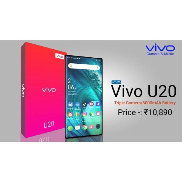 Vivo U20 akan Tiba di India, Bagaimana Spesifikasinya?