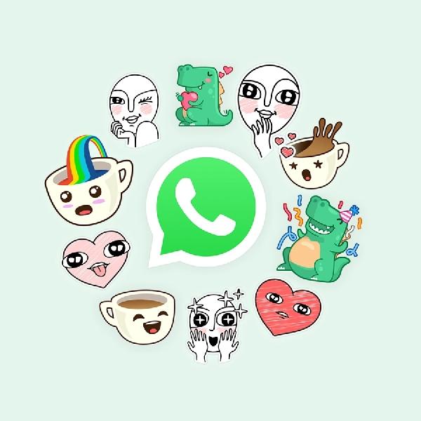 Chat di WhatsApp Bisa Pakai Sticker
