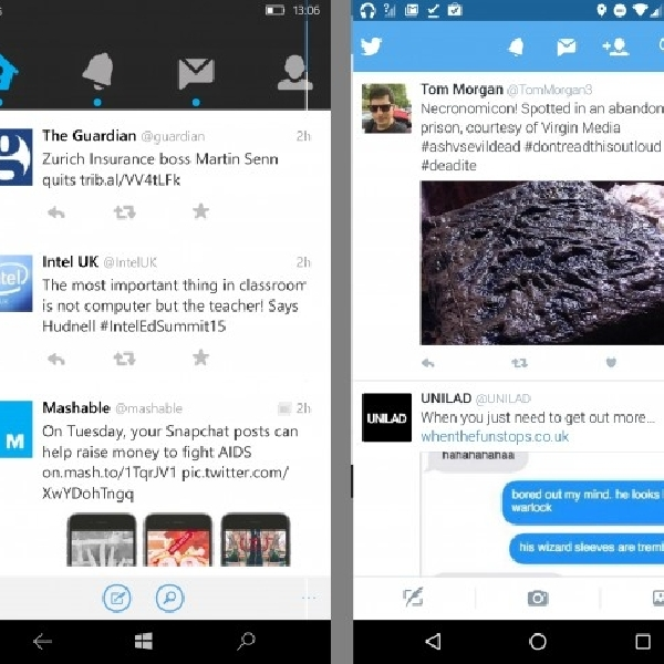 Cek Tweet Tanpa Login, Twitter Windows 10 Update Bisa Melakukannya