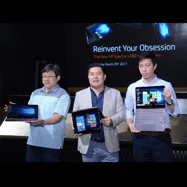 HP Hadirkan Laptop Convertible Terbarunya Di Indonesia