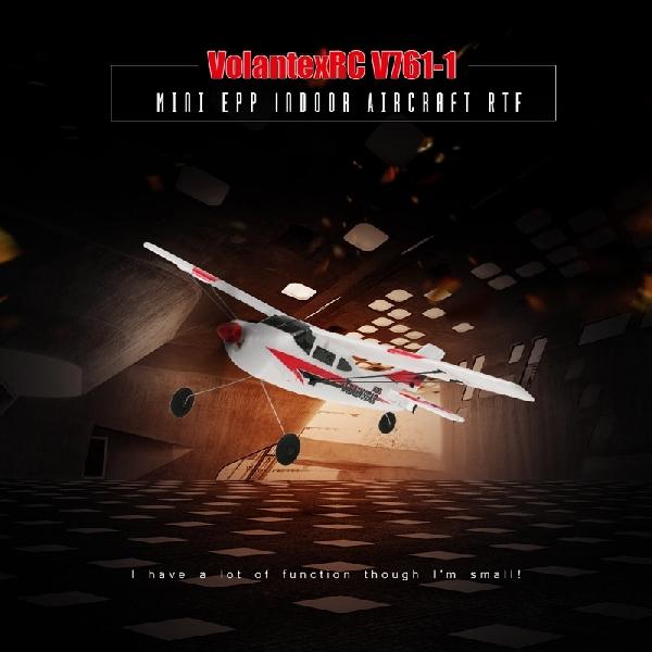 Volantex RC V761-1, Pesawat Terbang RC, Siap jadi Pilot