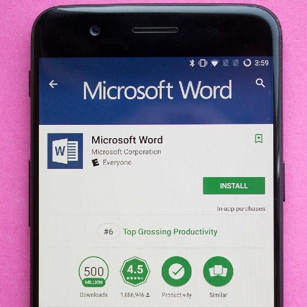 Aplikasi Android Microsoft Word Diunduh 1 Milyar Kali