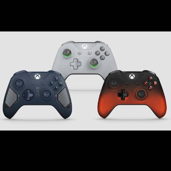 Microsoft Resmi Rilis Tiga Seri Kontroler Tebaru Xbox One