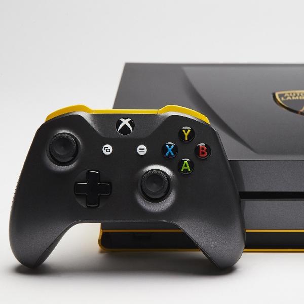 Tampil Gahar, Ini Rupa Xbox One S Edisi Lamborghini