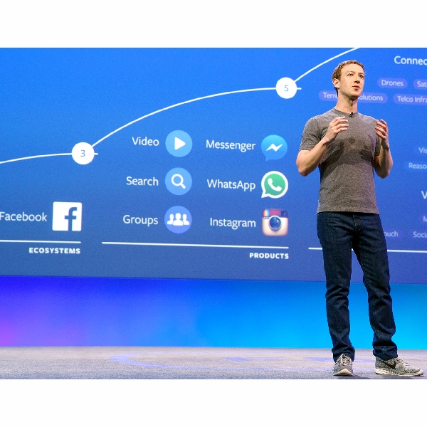 Zuckerberg Ingin Leburkan Facebook dan Instagram Jadi Satu
