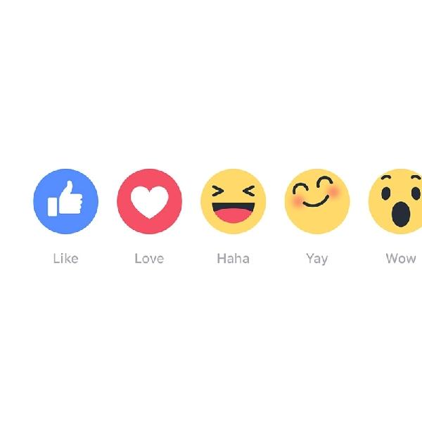 Facebook Hadirkan Fitur Reactions, Ini Cara Menggunakannya