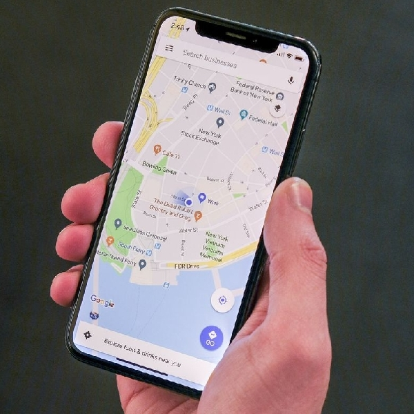 Cara Melihat Petunjuk Arah dari Google Maps Tanpa Membuka Kunci di iPhone