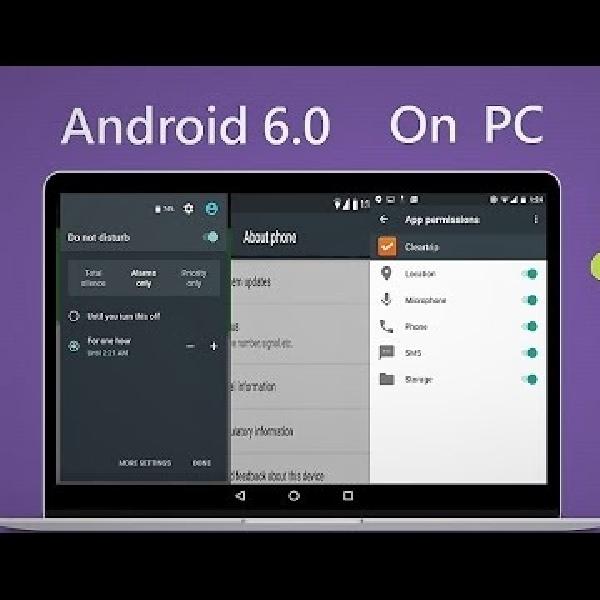Android 6.0 Marshmallow Bisa Diinstal di PC, Ini Caranya