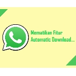 Cara Menonaktifkan Auto Download Media di Whatsapp