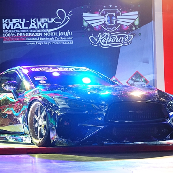 Honda G Concept Kembali Sabet 1st Runner Up Champ BlackAuto Modify