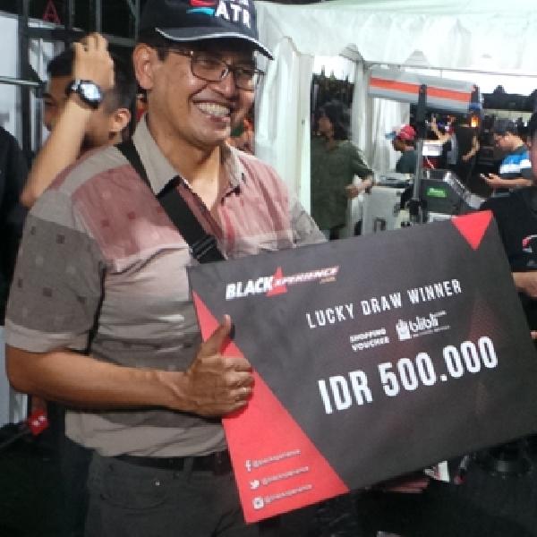 Inilah Pemenang Lucky Draw BlackAuto Battle 2017 Pekan Baru