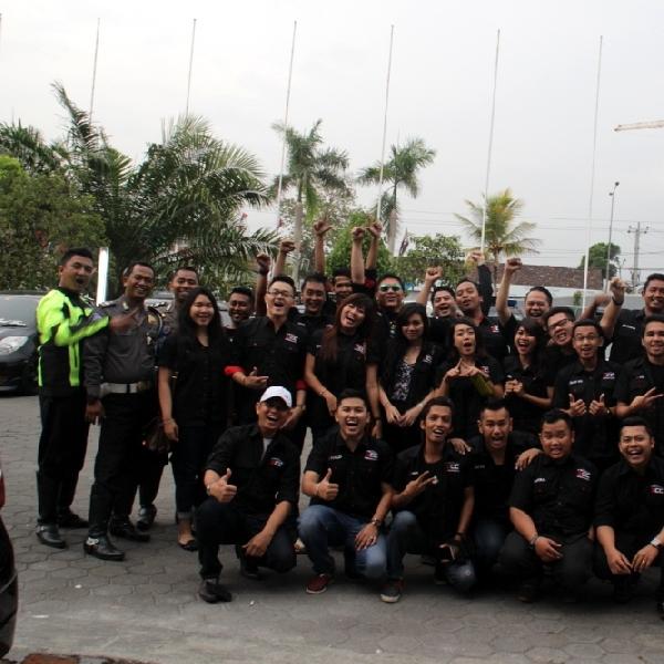BCC Yogyakarta Ramai-ramai Dukung Anggotanya