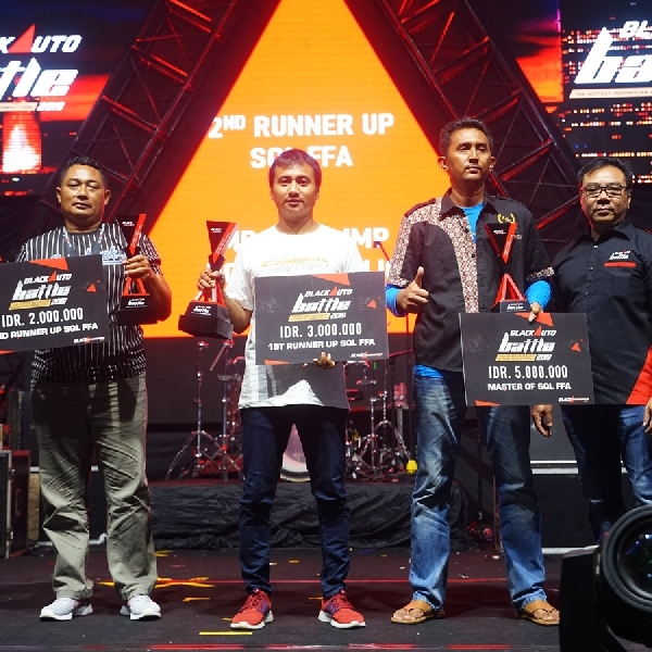 Klasemen BlackOut Loud Best Team Final Battle 2019