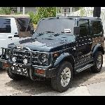 Eksotika Modifikasi Jimny Daily di BlackAuto Battle Warm Up 2019 Jakarta